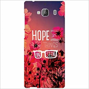 Redmi 2 Prime Back Cover - Hope Designer Cases