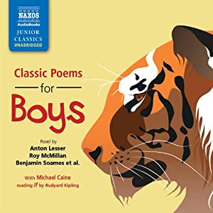 Classic Poems for Boys Audiobook