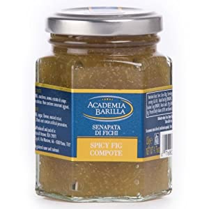 Academia Barilla Spicy Fig Compote Glass Jar 475-ounce by Academia Barilla