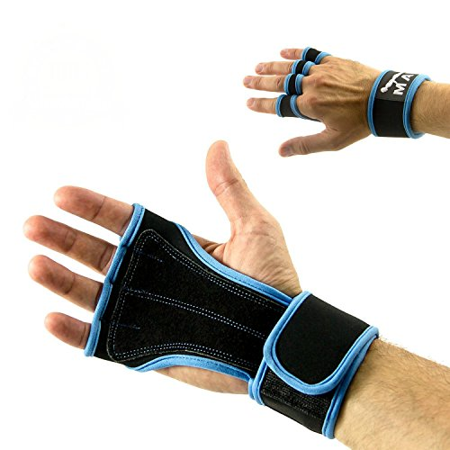 Mava Crossfit Gloves: Weight Lifting Cross Fit Olympic Bars Curl Bars And