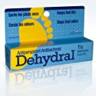 Dehydral Antiperspirant 15g - Stops Foot Odors - Keeps Feet Dry