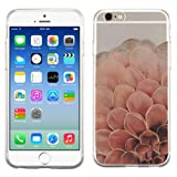 PhoneTatoos (TM) For iPhone 6 Plus Pink Dahlia Flower Glossy Transparent Clear Candy Skin Cover (Pink Dahlia Flower)