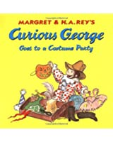 Curious George Goes to a Costume Party (Curious George) (Curious George 8x8)