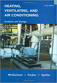 Heating Ventilating And Air Conditioning Analysis And Design Mcquiston Pdf