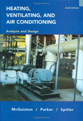 Heating, Ventilating and Air Conditioning Analysis and...