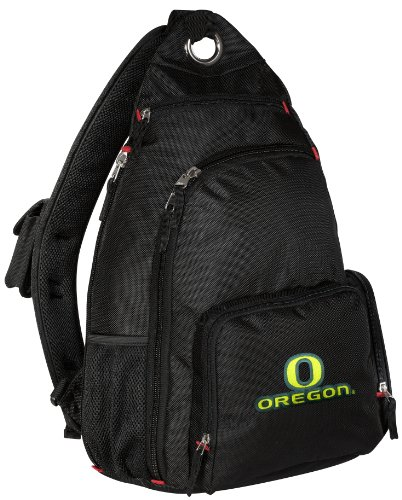 University Of Oregon Sling Backpack Uo Ducks One Strap Backpacks Travel Or Scho