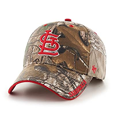 MLB '47 Frost MVP Camo Adjustable Hat