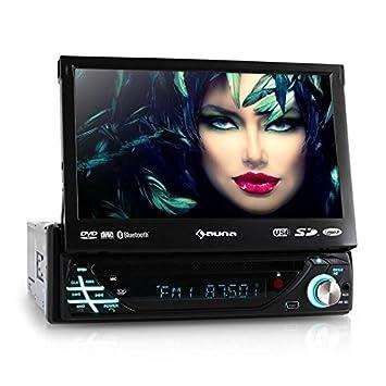auna mvd 220 autoradio multimedia multimedia avec ecran retractable 18cm. Black Bedroom Furniture Sets. Home Design Ideas