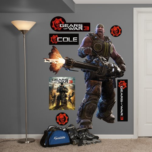 Fathead Gears Of War 3: Cole Graphic Wall Décor