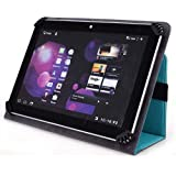 HP 7 Model 1800 Tablet with Intel Atom Processor 8GB Memory Slim Folio Case - UniGrip Edition - TEAL (Walmart...