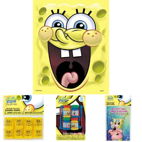 Unique SpongeBob Party Favor Bundle