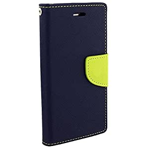 Flip Cover for Nokia Lumia 730 (Blue Green) Wallet Cover