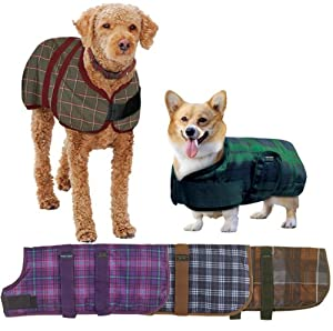 Centaur Dog Blanket - Size:30 Color:Orchid Plaid