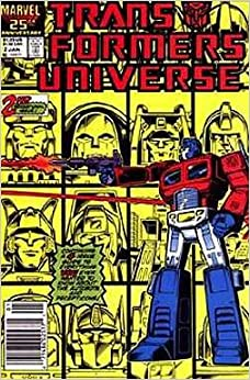Amazon.com: Transformers Universe #2 (Marvel Comic Book
