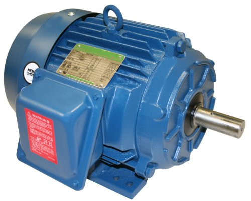 A.O. Smith T57030 5 Hp, 1800 Rpm, 230/460 Volts, 184T Frame, Tefc Enclosure General Purpose Three Phase Motor