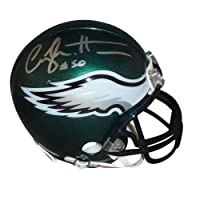 Casey Matthews Signed Autograph Philadelphia Eagles Mini Helmet Authentic Certified Coa