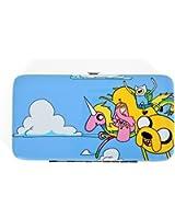 "Adventure Time ""Finn, Jake and Lady Rainicorn"" Hinge Wallet"