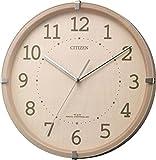 CITIZEN(リズム時計) 【シンプルモダン掛(木枠)電波】 シンプルモードアークミニ ピンク半艶仕上 4MYA27-013