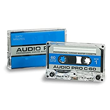 60 MINUTE HIGH BIAS TYPE II STUDIO QUALITY BOXED AUDIO CASSETTE - 10 PACK BOX