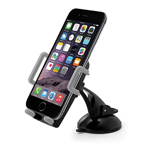 SENDIS Support Téléphone Voiture Auto Universel à Angle Réglable pour iPhone, Samsung Galaxy, Note, Nexus, LG, Sony, Android Smartphones,GPS