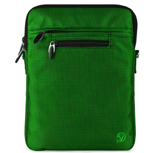VG Hydei Edition Green Nylon Protective Carrying Bag with Removable Shoulder Strap for Motorola Droid Xyboard / Motorola Xyboard / Motorola Xoom Familiy Edition / Motorola Xoom 10.1 inch Tablets