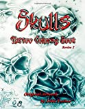 img - for Skulls Tattoo Coloring Book book / textbook / text book