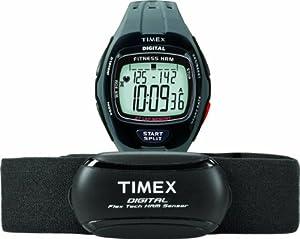 Timex T5K736 Cardiofréquencemètre Gris/noir