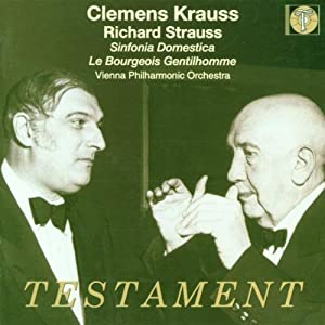 R Strauss: Symphonia domestica/Le Bourgeois gentilhomme Suite, Op.60