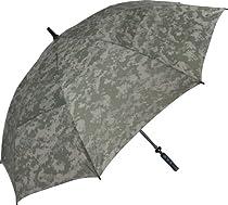 Haas-Jordan Hurricane Auto-Open ACU Digital Golf Umbrella (Camoflauge, 62-Inch)