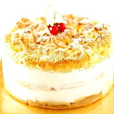 最高級洋菓子 ドイツの銘菓 フロッケンザーネトルテ ショートケーキ 15cm 本州送料340円