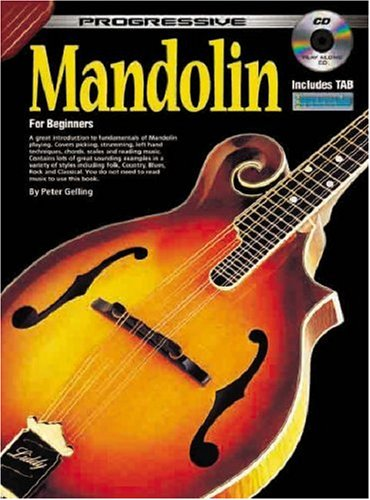 Progressive Mandolin: for Beginners- A Great Introduction to Fundamentals of Mandolin Playing