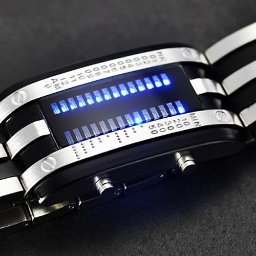 Taobaopit, Shockproof Army Style watch, futuristic watch, LED Watch