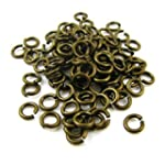Bead Time 5Mm Jump Rings (Open) X 120...