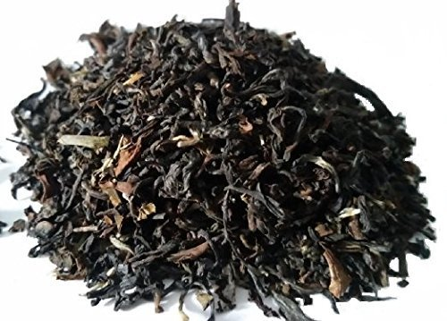 2nd Flush Darjeeling Black Tea, Loose Leaf Tea -Organic, Fair Trade From the SINGBULLI ESTATE in Himalayas. Muscatel Darjeeling Tea is Naturally Ric