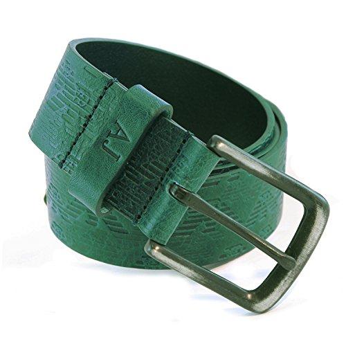 CINTURA V6120B4 Armani Jeans Cintura in pelle Verde 6 Uomo