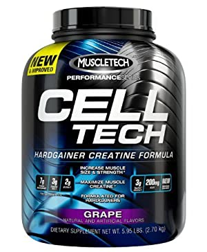 Cell-Tech Performance Series, Grape, 3lb Creatine