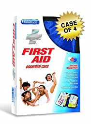 PhysiciansCare Soft-Sided First Aid Kit for up to 10 People, Contains 95 Pieces, Case of 4