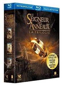 Le Seigneur des Anneaux : La trilogie. Boitier métal [Blu-ray] [Édition Limitée et Numérotée]
