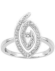 Kama Jewellery 950 Platinum Diamond Ring - B00OAXWDIA