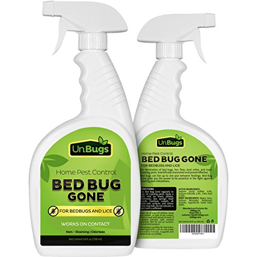 Unbugs Bed Bug Spray Killer Pest Control Treatment New Ebay
