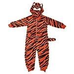 Childrens/Kids Tiger Print Hooded Ful...