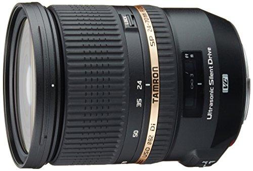 Tamron SP 24-70mm f/2.8 Di VC USD for Canon (Model A007E) - International Version (No Warranty)