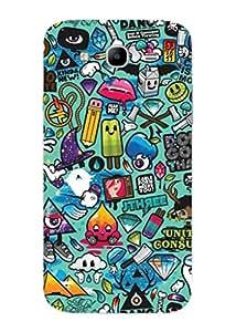 UPPER CASE™ Fashion Mobile Skin Vinyl Decal For Samsung Galaxy Mega Plus [Electronics]