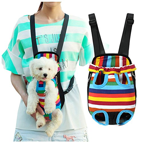 Homdox Bicycle Dog Carriers Portable Convenient Lightweight Outdoor Travel Pet Carrier Free Your Hands Safe to Carry Your Pet S