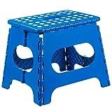 Home-it Folding Childeren Step Stool 11 In. Blue
