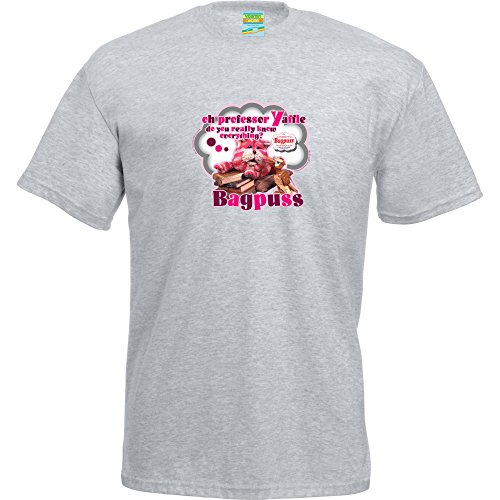 Bagpuss Unisex T-Shirt - Grey - S to XL