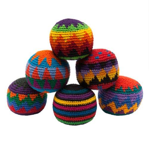 hacky-sack-pelotitas-de-punto-colores-surtidos-paquete-de-6