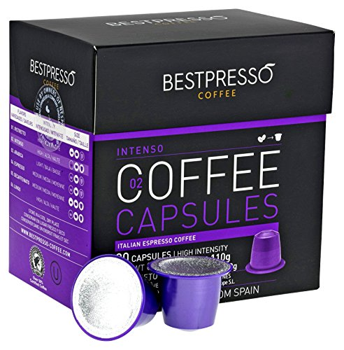 nespresso compatible gourmet coffee capsules 60 pod variety pack for original line nespresso. Black Bedroom Furniture Sets. Home Design Ideas