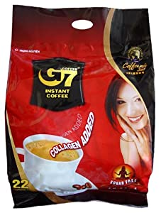 G7 Instant Coffee 3-in-1 Sugarfree by Trung Nguyen