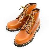 (アルファ) ALPHA アルファインダストリーズ ブーツ クラシック ワーク レザー 革 牛革 靴 ライトブラウン レッドブラウン 茶 30034Dlb 27